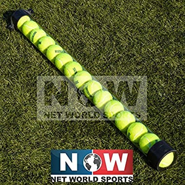 Tennis Ball Pick Up Tube - Ball Collector Holds 15 Tennis Balls! [Net World Sports]