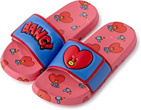 BT21 Official Merchandise by Line Friends - Character Velcro Slipper