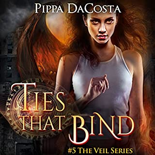 Ties That Bind     The Veil Series Book 5              By:                                                                                                                                 Pippa DaCosta                               Narrated by:                                                                                                                                 Hollie Jackson                      Length: 9 hrs and 10 mins     229 ratings     Overall 4.7