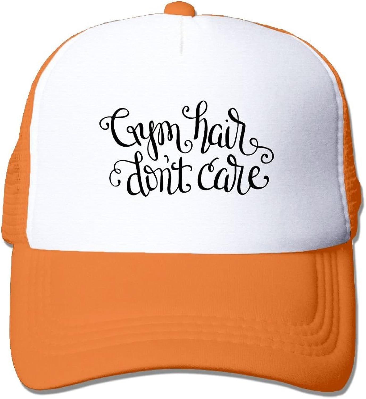 Outdoor Sports Hat - Lake Hair Don't Care Adjustable Trucker Hat Cap Adult Unisex Baseball Hat