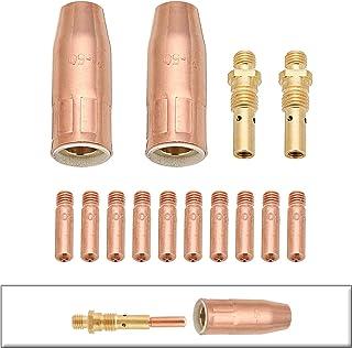 DyNamic Kit De Pistola De Soldadura Mig .030 Inch Boquilla De Gas Difusor De Punta