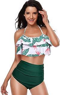 Girls Swimsuit Two Pieces Bikini Set Ruffle Falbala Swimwear Bathing Suits Family Matching Mother Girl Swimwear