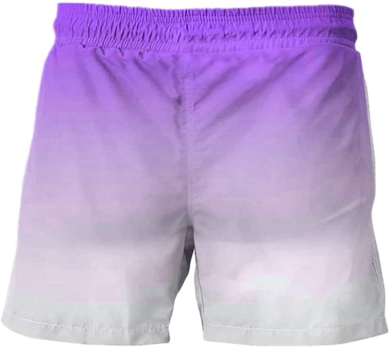 YuanYang hotpot Men Slim Swim Printing Shorts Regular dealer Sales results No. 1 Dry Pockets Quick