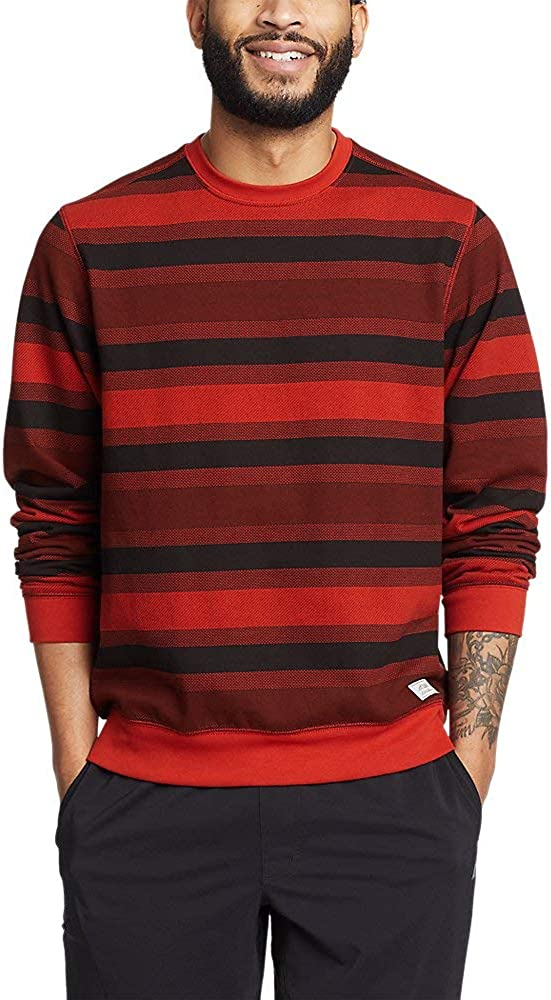 Eddie Bauer Men's Everyday Fleece Printed Crewneck Sweatshirt