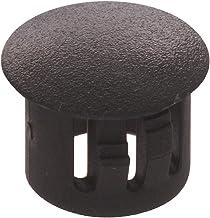 The Hillman Group 58125 1/4-Inch Black Nylon Hole Plug, 20-Pack