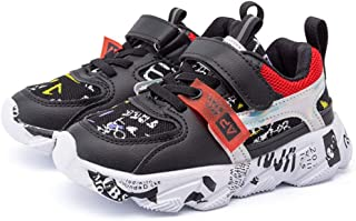 Daclay Kids Shoes Children's Sports Shoes Girls and Boys Trend Breathable Basketball Shoes