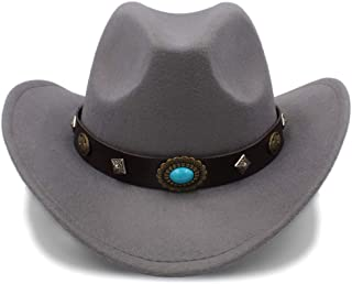 Lei Zhang 2018 New Western Cowboy Hat For Men And Women Outdoor Big Brim Caps Solid Jazz Hats Size 56-58cm Dropshipping