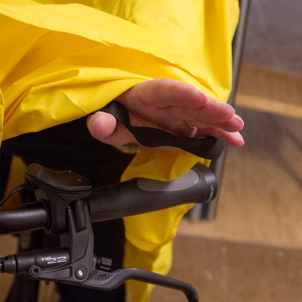 Hama Giallo Poncho antipioggia per bicicletta colore