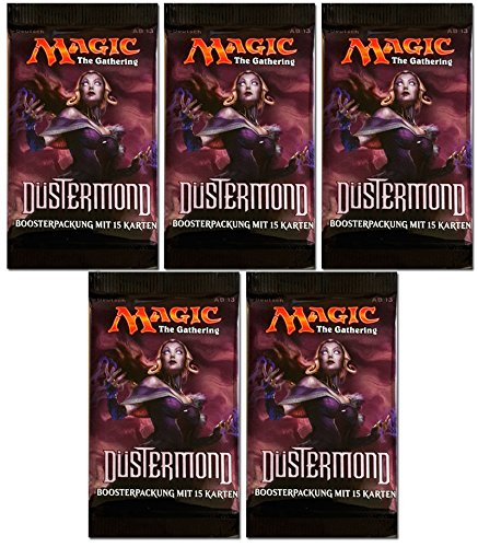 Magic the Gathering MTG Düstermond - 5x Booster Pack - Deutsch - German