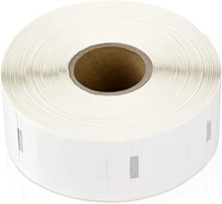 """OfficeSmartLabels ( 1"""" x 1"""" Multipurpose Industrial Grade Plastic Labels, Compatible with 1933083 & 30332 (100 Rolls - 850..."""