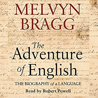 The Adventure of English audiobook cover art