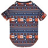 PET SHIRT for Dogs & Cats - NFL DENVER BRONCOS Dog Ugly Tee Shirt, Medium. - Cutest Pet Tee Shirt for the real sporty pup