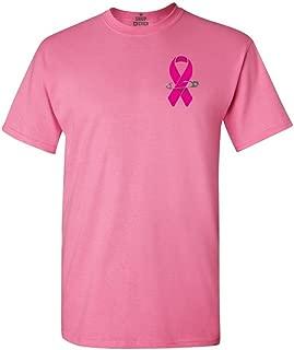 Pink Breast Cancer Ribbon Pin T-Shirt