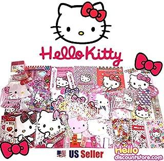 [GIFT WRAP] Sanrio Hello Kitty Assorted School Supply Stationary Set (12pcs)