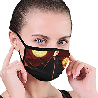 William D Oliver Bleach-Ichigo Vizard Anime Face Mask for Men Women Kids for Outdoor Ski Cycling Camping