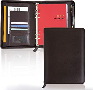 $44 » Synthetic Leather System Diary Zipper Handmade Organizer Planner with Daily Schedule, Users can Create Their own Diaries t...