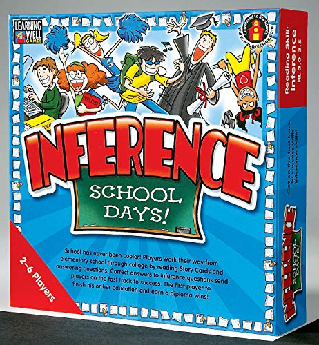 Edupress Inference Game, Red Level (EP60802)