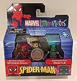Art Asylum Marvel Spider-Man Minimates TRU Exclusive Spider-Armor and Beetle