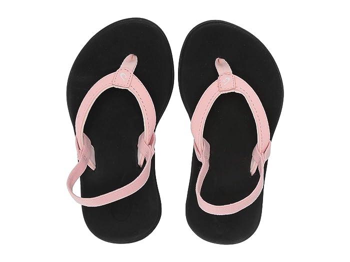 Ho'opio  Shoes (Toddler/Little Kid/Big Kid) (Seashell/Black) Girls Shoes