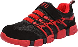 Boy's Girl's Athletic Strap Breathable Running Shoes Casual Sneakers (Toddler/Little Kid/Big Kid)