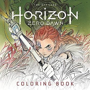 TITAN COLORING BOOK  Horizon Zero Dawn