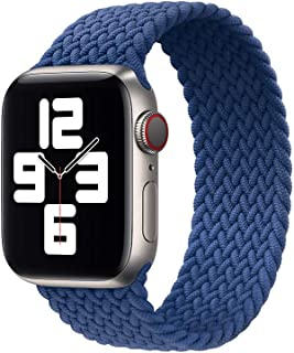 Strap / Band Compatible With Apple Watch Braided Solo Loop Replacement Band 42/44mm | 38/40mm Series SE/6/5/4/Soft Polyest...