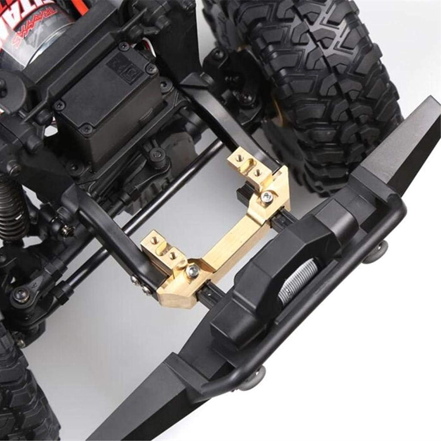 1x Copper Front Servo Stand Bumper Mount Relocation for 1 10 TRX4