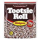 Tootsie Roll Chocolatey Twist Midgees Resealable Standup Bag, Peanut Free, Gluten Free original, 77.76 Ounce