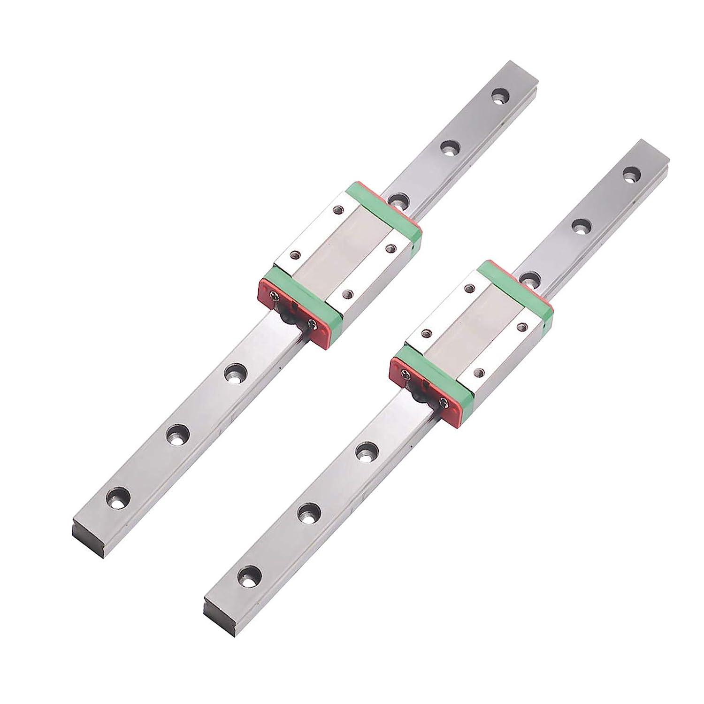 MR12 MGN12 1500mm Miniature Rail Guide x 1 pcs MGN12H Slider of ...