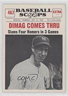 Joe DiMaggio (Baseball Card) 1961 Nu-Cards Baseball Scoops - [Base] #467