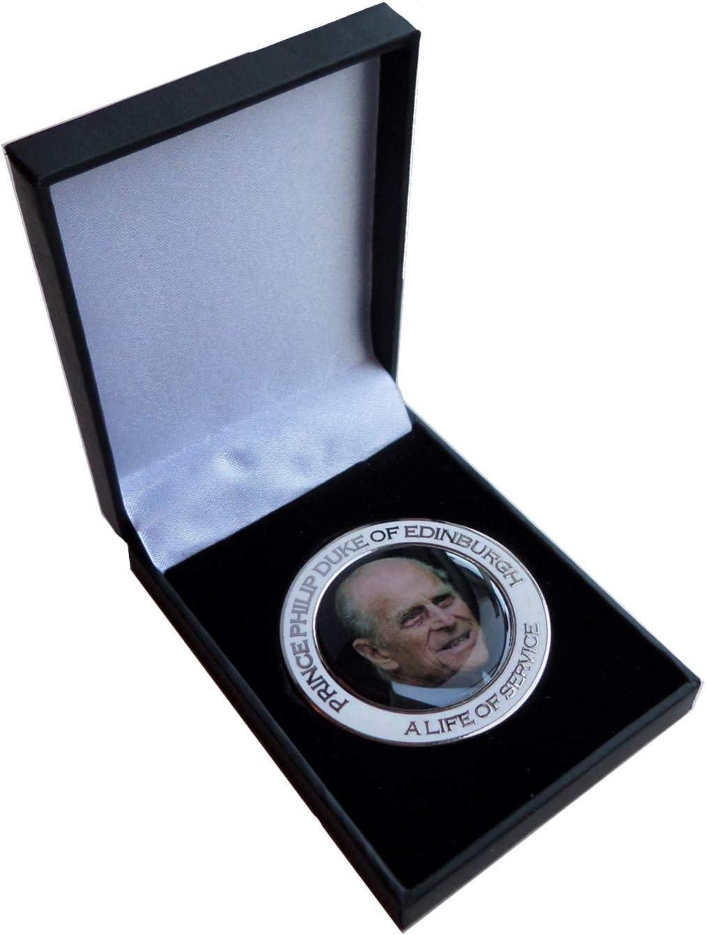Prince Popular Philip Duke of Edinburgh A - Live B Medal Coin Max 71% OFF Service