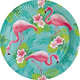 8 Teller Flamingo Paradise 23 cm