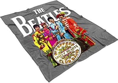 LEXIGSTORE The Beatles Blanket for Bed and Couch, English Rock Band Blankets - Perfect for