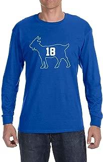 Blue Indianapolis Manning Goat Long Sleeve Shirt
