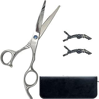 Professional Hair Cutting Scissors/Shears Diamond Series Stainless Steel Sharp Precision Razor Edge Sliver Hairdresser Haircut Scissors for Salons & Home Use (6 Inch)