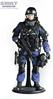 Super System Highly Detail Special Forces Action Figure SWAT Team-ASSUALTER