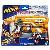 Colpisci il tuo avversario con la massima precisione con Nerf Firestrike Elite: grazie al raggio luminoso attivabile dal grilletto dedicato, la tua mira sarà infallibile. Include 6 freccette. Prodotto originale Hasbro.