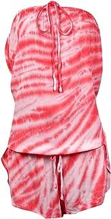 Lucky Brand Women's Fireworks Tie-Dye Cover-Up Romper