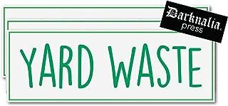 Best garden waste sticker Reviews