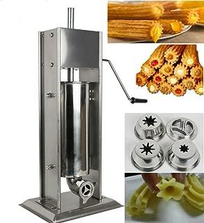 Churreras Churros Filler Maker Machine - 5L Stainless Steel Commercial Manual Spanish Churro Maker Doughnut Machine