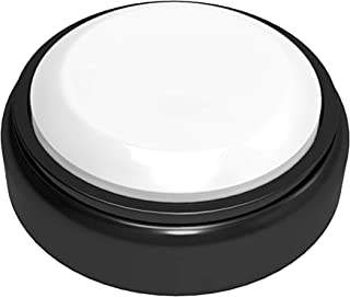 Talking Clock, Easy to Use Large Push Button Speaks The Time and Date and Day of Week for Elderly, Visually Impaired or Blind with Alarm Feature