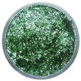 Snazaroo 1115444 Kinderschminke effekt - Glittergel, Gesichtsfarbe im 12ml Topf, holographischer Glitzer Make-up zum direkten Auftragen auf der Haut oder zum mischen mit Farben, Smaragdgrün