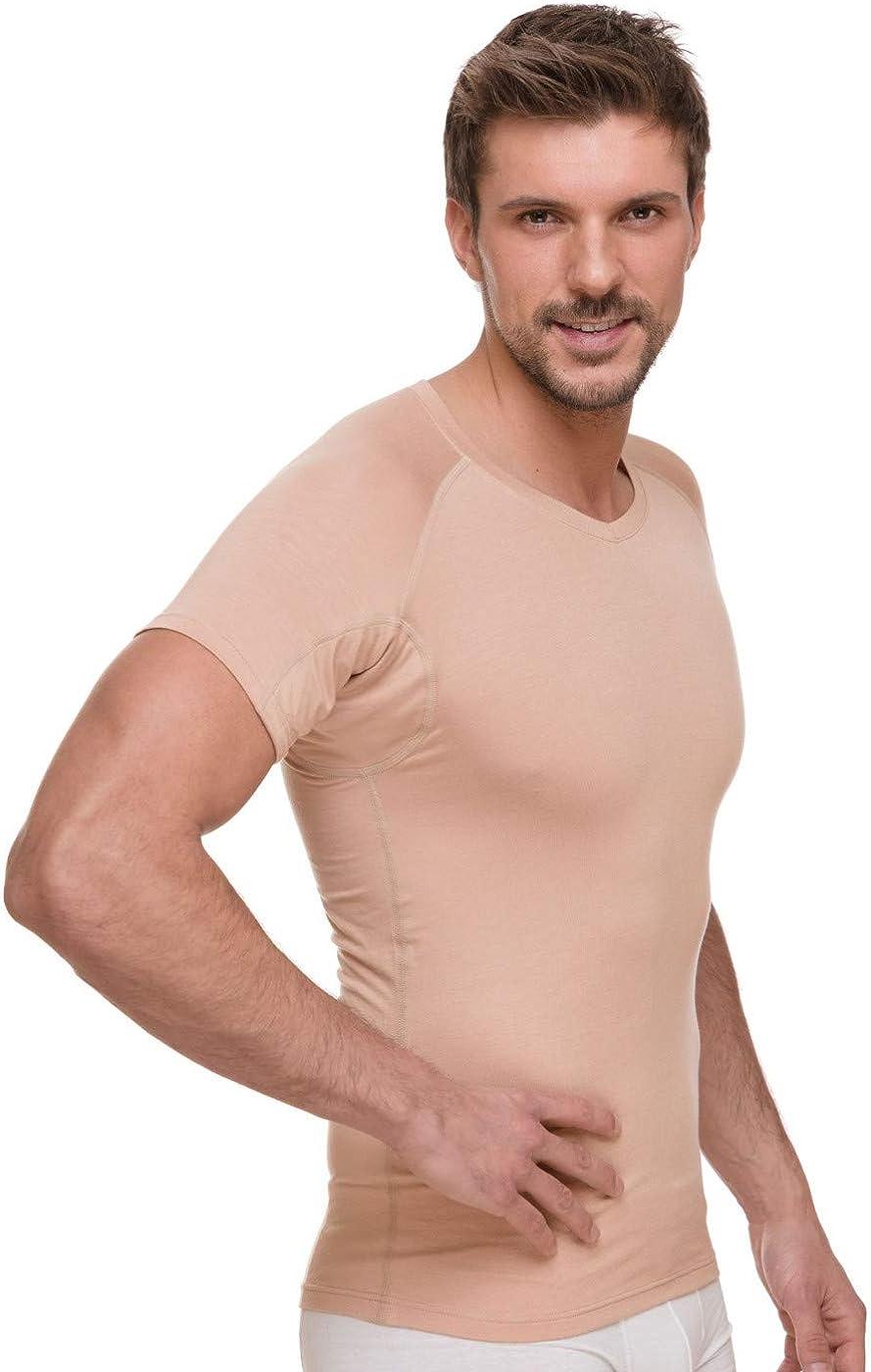 SAPREZA Camiseta interior antisudor para hombre, con ...