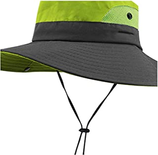 Surprise S Sun Hats Women Summer Hat Wide Brim Uv UPF Protection Ponytail Outdoor Fishing Hiking Hat