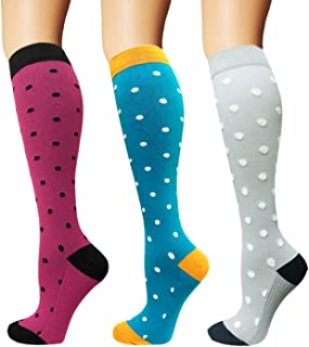 3/5 Pairs Compression Socks Women & Men - Best...