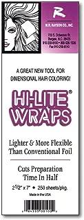 Hi-Lite Wraps 2.5 x 7, 250 Sheets Per Box