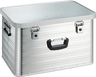 Enders Alubox 63 Liter  Schloss Set, hochwertig verarbeitet mit Moosgummidichtung, Alukiste verwendbar als Transportbox und Lagerbox - Alukoffer Lagerkisten Metallkiste Metallbox Aluboxen Alukisten
