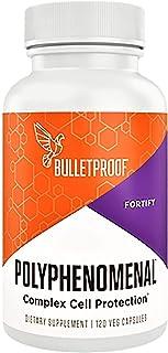 Bulletproof Polyphenomenal 2.0 Supplement, Antioxidant Polyphenols, Pomegranate, Quercetin, Turmeric, Organ...