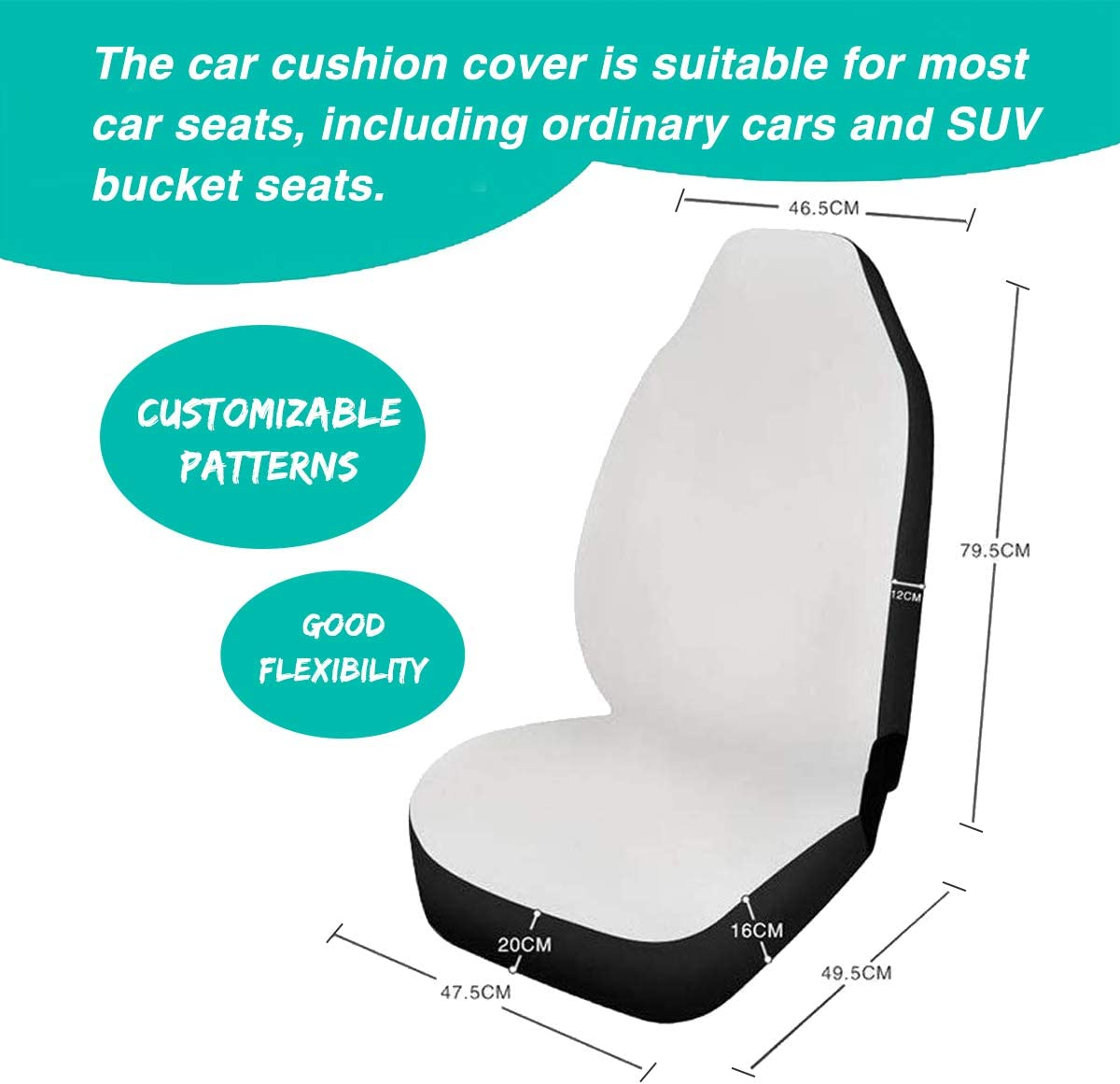 Seat Belt Cushion Shoulder Strap Cloth Auto Armrest Cover Cozeyat Blue Butterfly Car Seat Covers Full Set All Weather Car Floor Mats 10pcs Car Decor Gifts Steering Wheel Cover