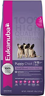 Eukanuba Small Breed Puppy Food 4 lb.